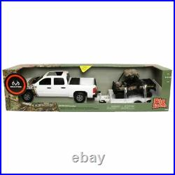 1/16 Big Farm REALTREE John Deere Chevy Pickup with 825i Gator and Trailer 46752