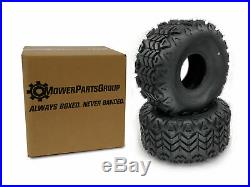 (2) 25x13-9 ATV Tires Fits John Deere Gator Rear 6x4 4x2 25x13.00-9 Rpls M118819