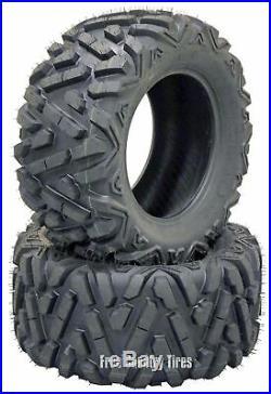 2 ATV/UTV Tires 25x12-9 305/65-9 6PR Bighorn Style All Terrain John Deere Gator