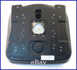 (2) Black HIGH BACK SEATS with Pivot Rod Bracket John Deere Gator CS CX Utility
