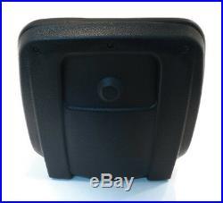 (2) Black HIGH BACK SEATS with Pivot Rod Brackets for John Deere Gator 4x2 & 6x4