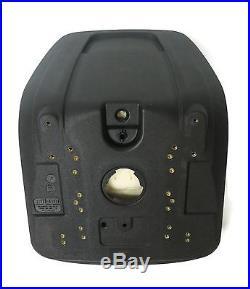 (2) Black HIGH BACK Seat John Deere Gator UTV 4x2 6x4 Diesel Trail Worksite Turf