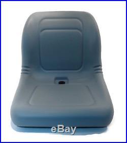 (2) Grey HIGH BACK Seats John Deere Gator TX TX 4x2 TX Turf TX 4x2 Turf UTV