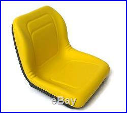 (2) HIGH BACK Seats John Deere Gators / UTV / Utility Vehicles fits MANY Models