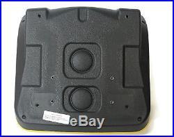 (2) HIGH BACK Seats for John Deere Gator Military 6x4 M-Gator A1 Utility UTV