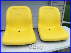 2- High Back Seats John Deere Gator