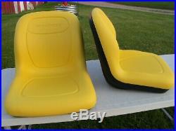 2- High Back Seats John Deere Gators