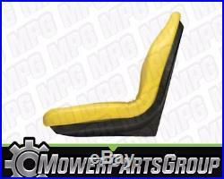 (2) John Deere Gator 18 High Back Seats 4x2 6x4 UTV Trail AM129969 VG11696
