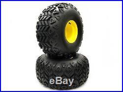 (2) John Deere Gator 25x13.00-9 Rear Wheel & Tire Assemblies AM143569 M118819