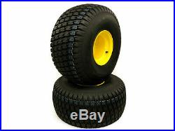 (2) John Deere Gator Rear Wheel Assemblies 25x12.00-9 Replaces AM143569 M118819