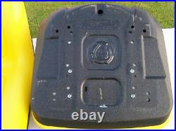 2- John Deere OEM High Back Gator Seat VG11696