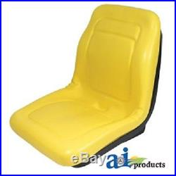 (2) New HIGH BACK Seats with Bracket John Deere Gator XUV 850D 4x2 HPX 4x4 HPX 6x4