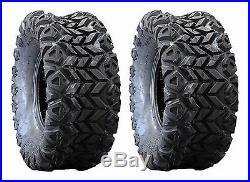 (2) New Innova 25x13x9 Cayman AT Rear Tires OEM For John Deere Gator UTV's