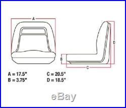 (2) New John Deere Vg11696 Am121752 John Deere Gator 4x2 4x4 4x6 CX Diesel Turf