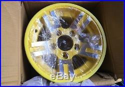 2 New OEM John Deere Gator Aluminum Wheels Rims 12x7