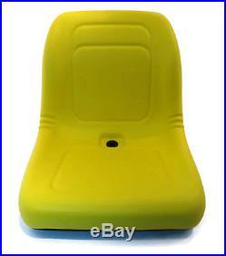 (2) Yellow HIGH BACK SEAT with Pivot Rod Bracket John Deere Gator CS CX Utility