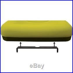 2 Yellow HIGH BACK SEATS with PIVOT ROD & ARM REST John Deere Gator 4x2 6x4 Diesel