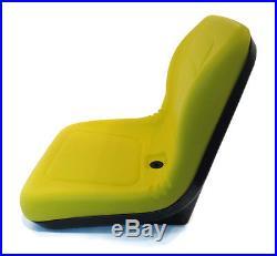 2 Yellow HIGH BACK Seat John Deere Gator UTV 4x2 6x4 Diesel Trail Worksite Turf