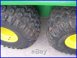 2001 John Deere Gator 6x4 Diesel, elec box lift, canopy, turn signals, LOOK