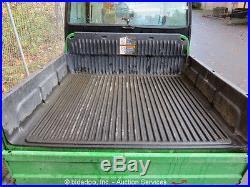 2009 John Deere 850D Gator 4x4 Diesel ATV UTV Utility Hydraulic Dump Cart Cab
