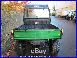 2009 John Deere Gator 620i 4x4 XUV 23hp Fuel Injected UTV Power Dump Bed