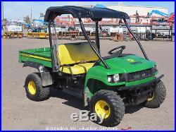 2011 John Deere Gator HPX Diesel 4x4 UTV Utility Cart Vehicle Dump Bed ATV