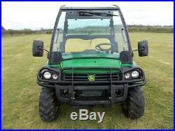 2013 John Deere Gator 855d Diesel Road Registered Utility Vehicle Mule Atv Quad