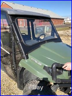 2013 XUV 550 S4 4X4 GATOR with TRAILER, ENCL & HEATER RUNS GREAT Best Offer