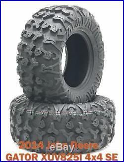 2014 John Deere GATOR XUV825I 4x4 SE ATV Rear Tire Set 27x11R14 8PR Radial