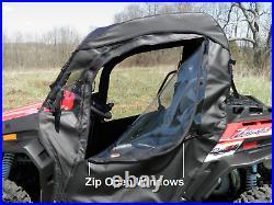2015+ John Deere Gator HPX/XUV Doors with Zip Open Windows