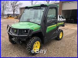 2018 John Deere Gator XUV 835R Utility Vehicle Cab AC 35 Hours 4x4 UTV RTV