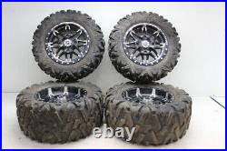 2019 John Deere Gator Rsx 860m Front Wheels Rims W Tires