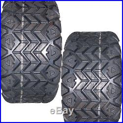 22x11.00-10 TIRES for some Go Kart Kawasaki Mule John Deere Gator 1000 lb. Wt. Cap