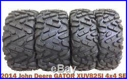 27x9R14 & 27x11R14 Radial ATV Tire Set for 2014 John Deere GATOR XUV825I 4x4 SE