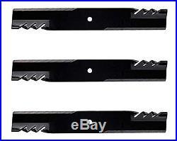 3 Oregon 396-719 Gator Mulcher Blade, 54 Mower Deck John Deere X340 X540 Z425 +
