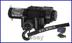 3500 lb KFI Stealth Winch Combo Kit (M4) For 2018 John Deere Gator RSX 860M