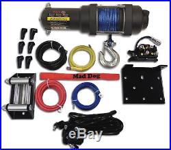 3500lb Mad Dog Synthetic Winch/Mount for John Deere Gator 625i / 825i / 855D