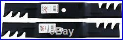 38 Rotary #6421 Lawn Mower Blade set (2) John Deere #M112991 11/16 CH Gator M