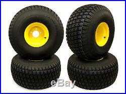 (4) John Deere Gator 25x12.00-9 Rear Wheel & Tire Assemblies AM143569 M118819