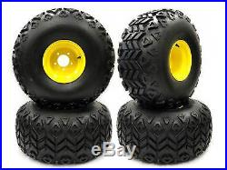(4) John Deere Gator Rear Wheel Assemblies 25x13.00-9 Replaces AM143569 M118819
