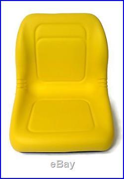 (4) New HIGH BACK Seats John Deere Gator Model E-Gator CS CX 4x4 Trail HPX TE