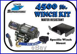 4500LB KFI Winch Mount Kit 11-14 John Deere Gator XUV 625i 825i 855D