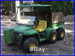 6x4 John Deere Gator