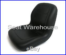 Black XB180 HIGH BACK SEAT for John Deere GATORS Made in USA by MILSCO #IN