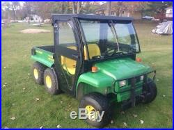 Curtis Black Soft Side Deluxe Cab For 4X2 and 6X4 John Deere Gators