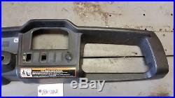 DASH PLASTIC PANEL 2013 John Deere Gator 855 D #11139