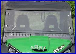 Full Cab Enclosure for John Deere Gator 850i Hard Windshield, Doors, Roof, etc