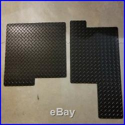 Gator Mats, Floor Mats For John Deere Gator 825, 625, Hpx, Diamond Pattern (s4)