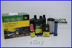 Genuine John Deere Diesel Gator Home Service Filter Kit LG243 X495 X595 HPX