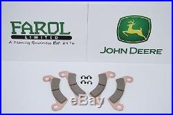 Genuine John Deere Gator Brake Kit AM140607 Brake Pads 855D XUV Front